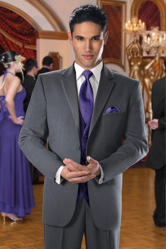 wholesale dealer on feet shots of super cute GT041-Steel Grey Ceremonia Tuxedo - The Tuxedo Gallery