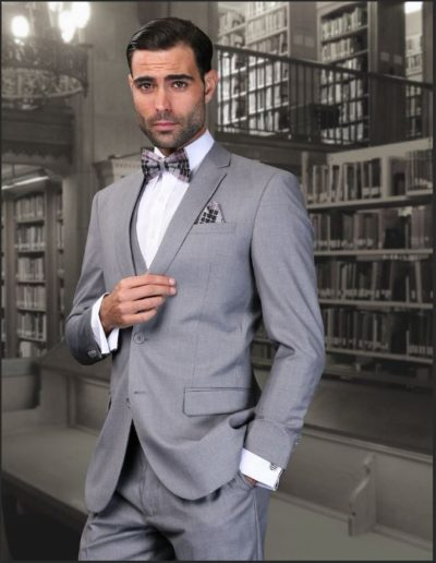 Solid Grey Suit 2